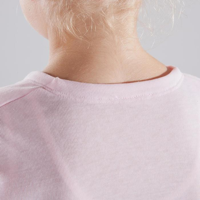 Chaqueta cruzada de danza clásica niña rosa pálido