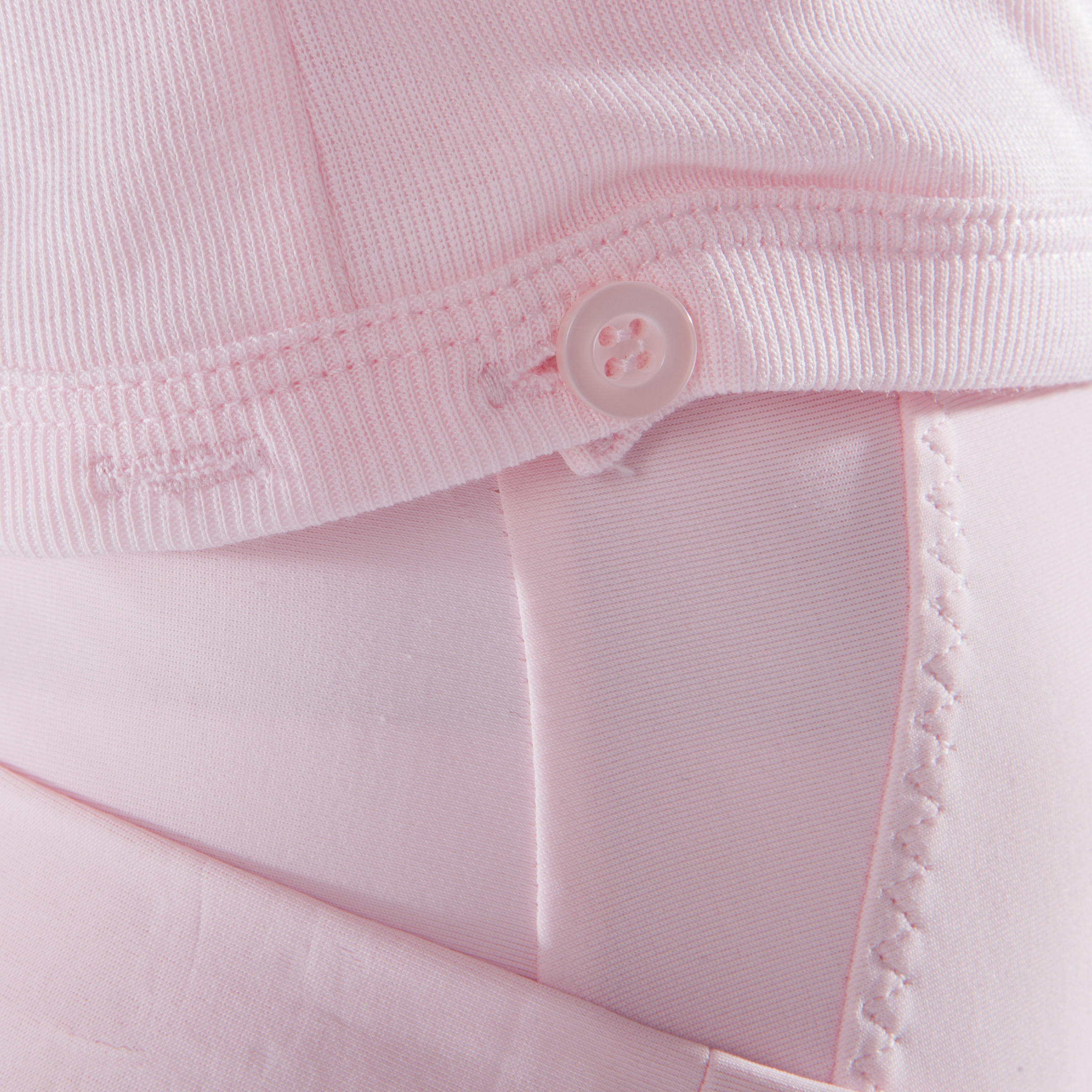 Cache-cœur de danse classique fille rose pâle