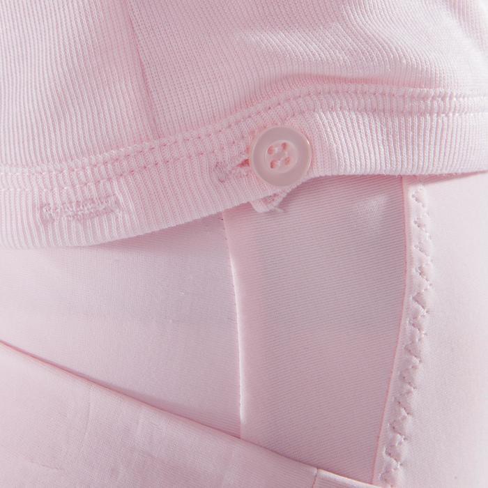 Cache-cœur de danse classique fille rose pâle - 1517434