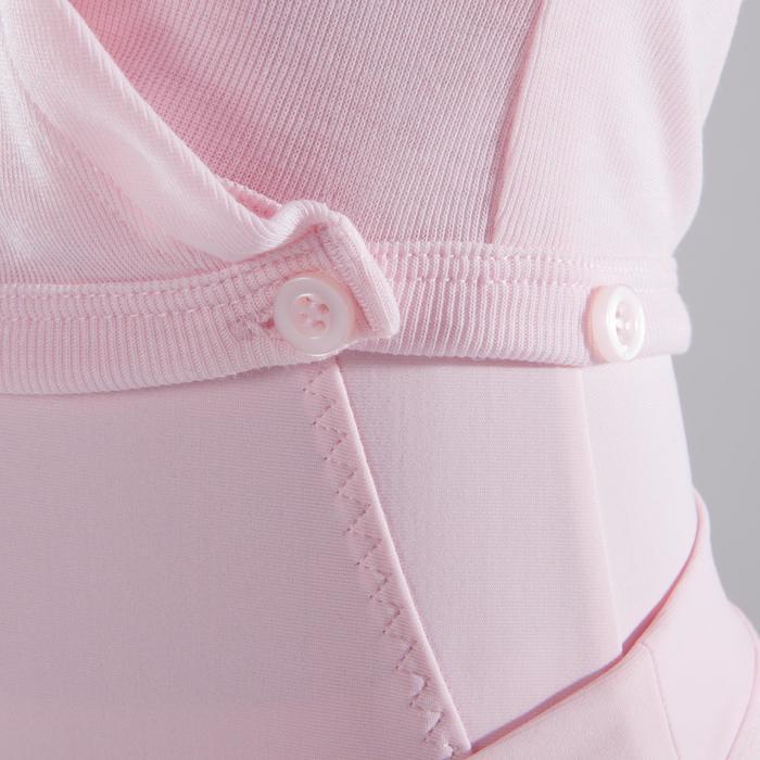 Cache-cœur de danse classique fille rose pâle - 1517435