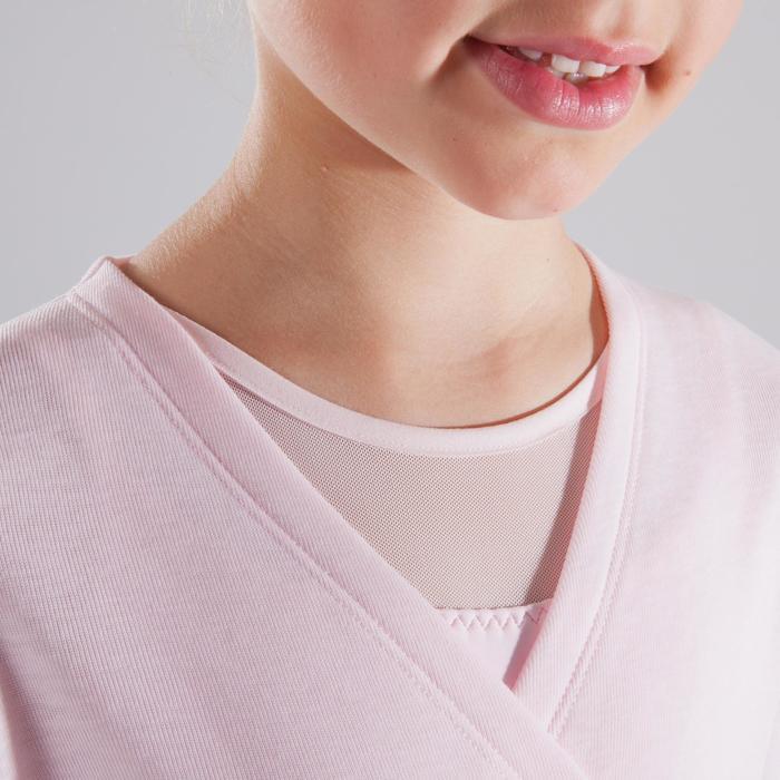 Cache-cœur de danse classique fille rose pâle - 1517437