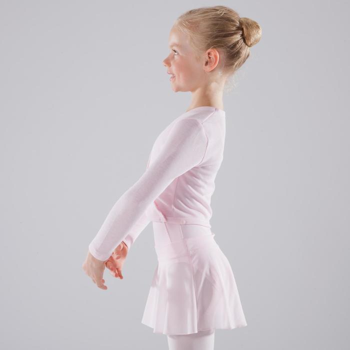 Cache-cœur de danse classique fille rose pâle - 1517438
