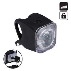 Fahrradbeleuchtung Frontlicht FL 520 Lock LED USB 10 Lux schwarz