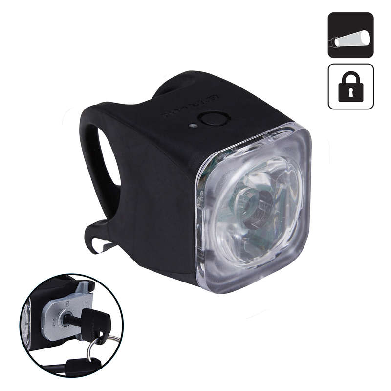 BIKE LIGHTS Cycling - FL 520 Front Lock USB ELOPS - Bike Accessories