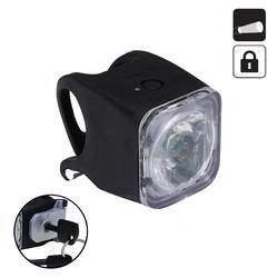 Fahrradbeleuchtung Frontlicht VIOO 500 LOCK USB 10 LUX diebstahlsicher