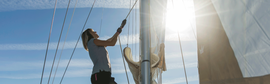The benefits of sailing:set off on an adventure!