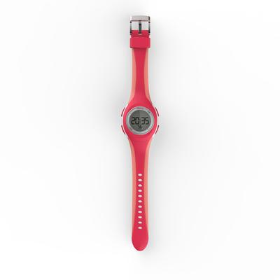Reloj Cronómetro Running Kalenji W200 S Mujer Rosado/Coral