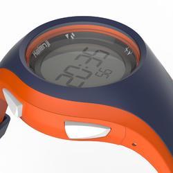 Hardloophorloge met stopwatch W200 M blauw en oranje