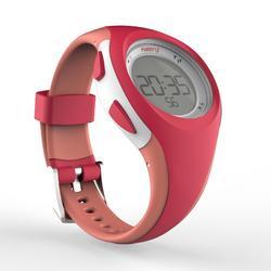 Reloj cronómetro de running mujer W200 S rosa y coral