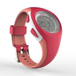 Stopwatch lari W200 S wanita - Pink dan Coral