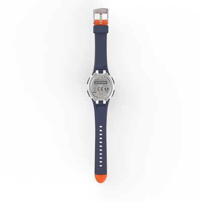 Reloj Cronómetro Running Kalenji W200 S Mujer Naranja/Azul