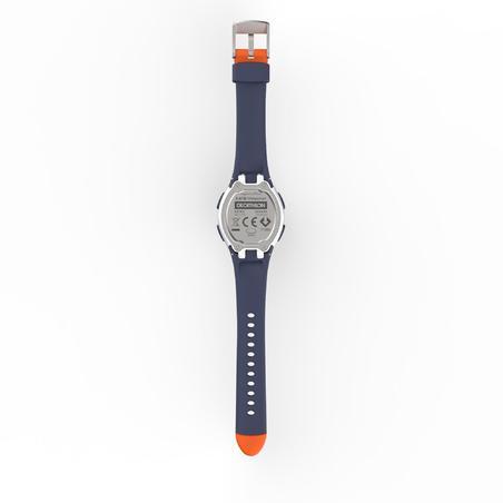 W200 S women's running stopwatch - Orange and Blue