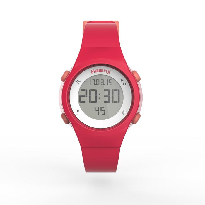 Horloge met stopwatch W500 S roze