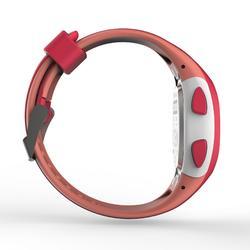 Horloge met stopwatch W200 S roze en koraal