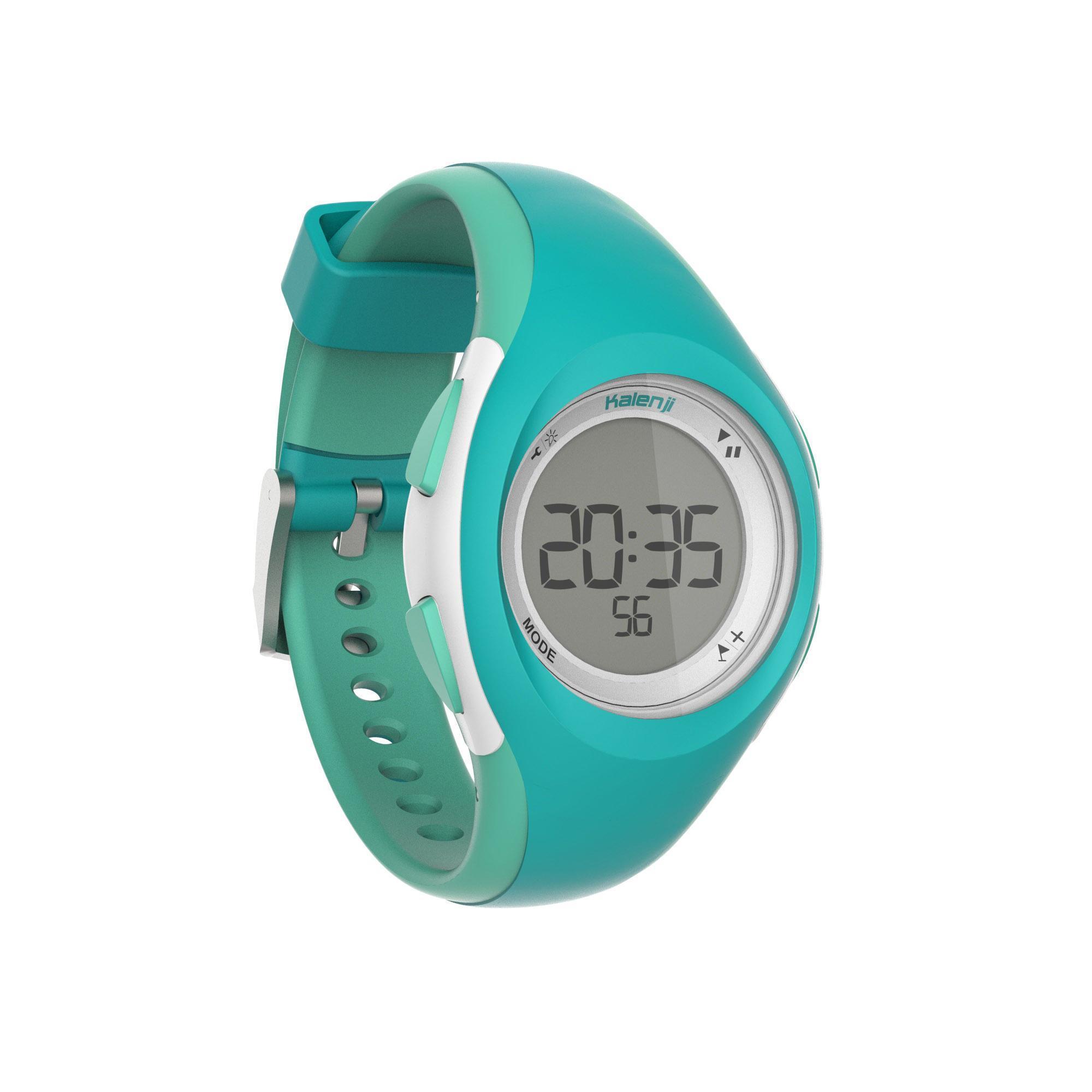 Reloj Cronómetro Running Kalenji W200 S Mujer Rosa/Coral