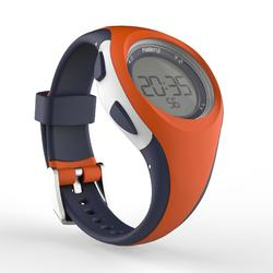 Hardloophorloge met stopwatch W200 S oranje en blauw