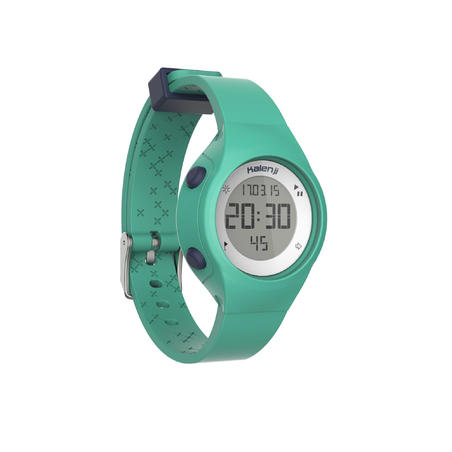 W500 S women's running stopwatch - Green