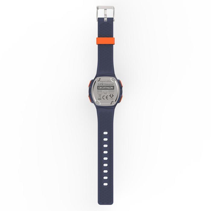 Sportuhr Stoppuhr W500 M blau/orange