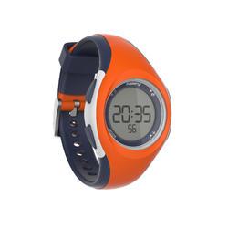 Horloge met stopwatch W200 S oranje en blauw