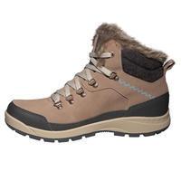 SH500 X-Warm Mid Women's Snow Hiking Shoes - Brown