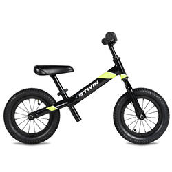 "12"" Run Ride 900 Black Balance Bike"
