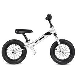 Run Ride 900 12-Inch Kids' Balance Bike - Silver