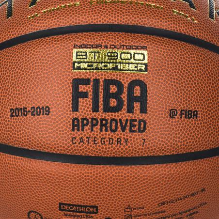 Баскетбольний м'яч BT900 для хлопців/чоловіків, розмір 7