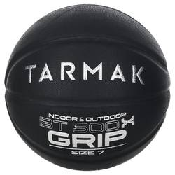 Basketbal BT500 zwart (maat 7, extra grip)
