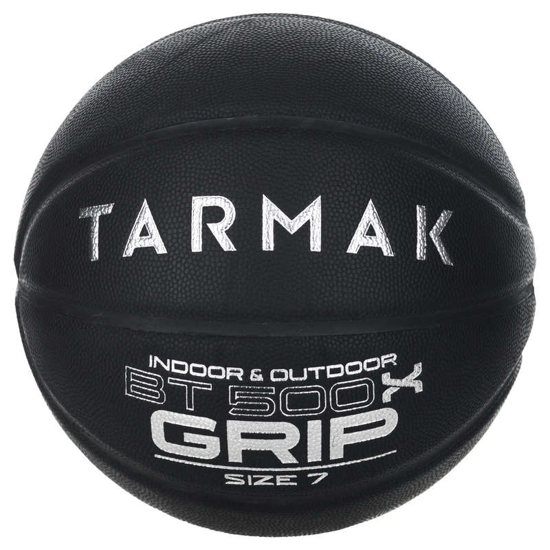 MINGI DE BASCHET Baschet, Handbal, Volei, Rugby - Minge BT500 GRIP M7 Negru TARMAK - Mingi