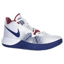 Basketbalschoenen Kyrie wit blauw