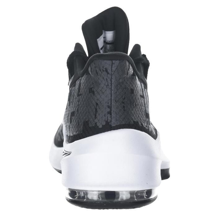 quality design c49ed fe4f0 Basketbalschoenen halfgevorderde spelers Air Max Infuriate 2 Mid zwart