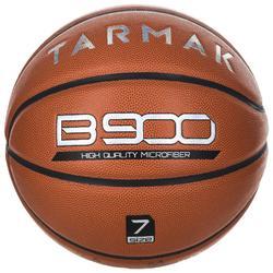 7號籃球B900-棕色。超細纖維表皮。 適用14歲以上使用。