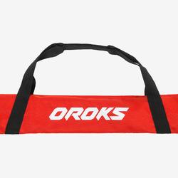 Hockeyschläger-Tasche rot