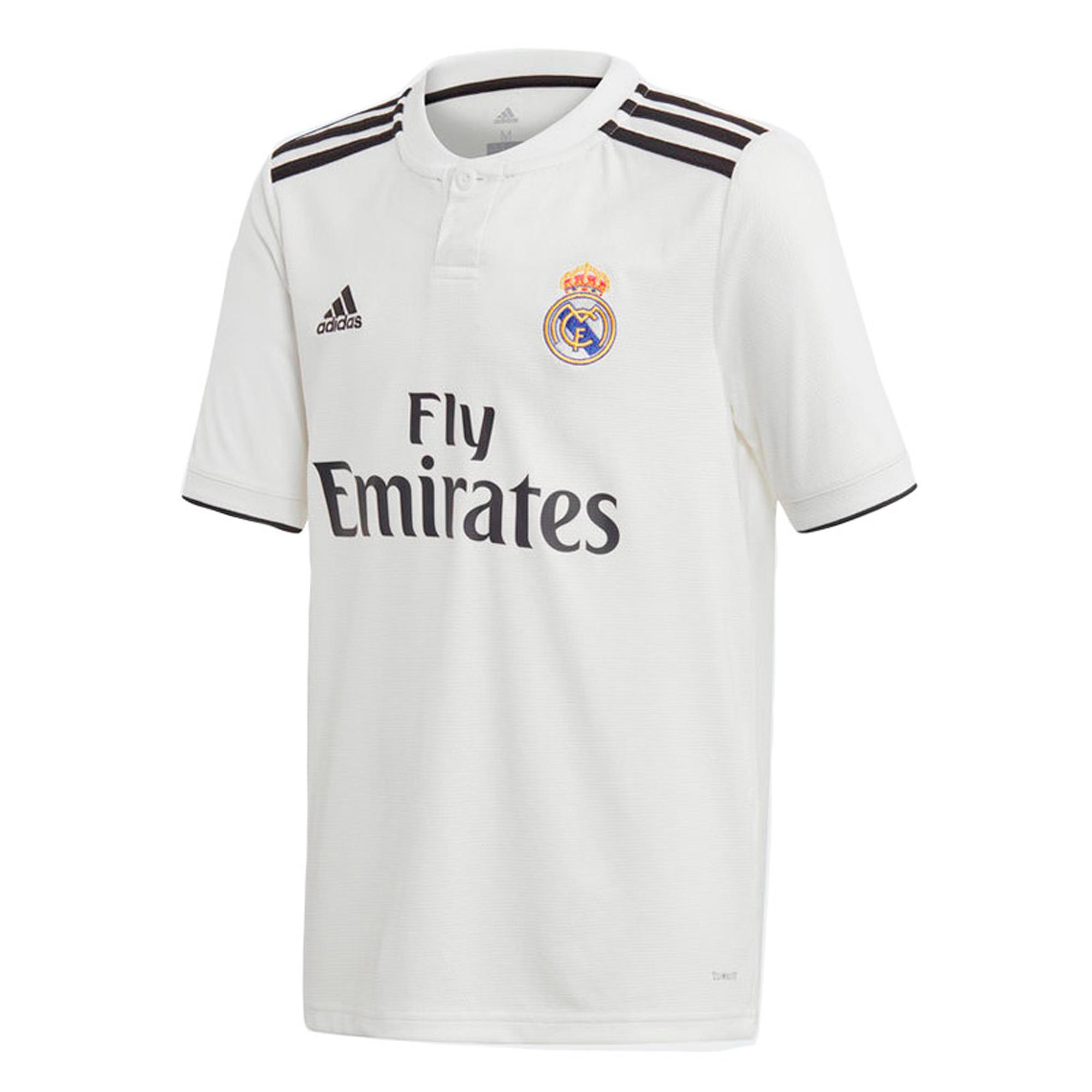 Equipación y Camisetas Oficiales Real Madrid 18 19  731fa0b8ff3bc
