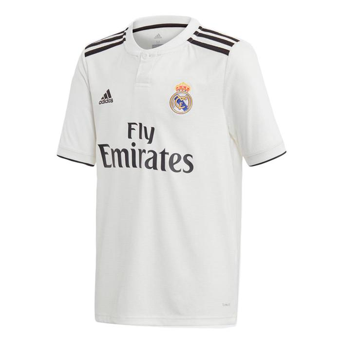 Maillot football adulte Real Madrid domicile blanc 18/19