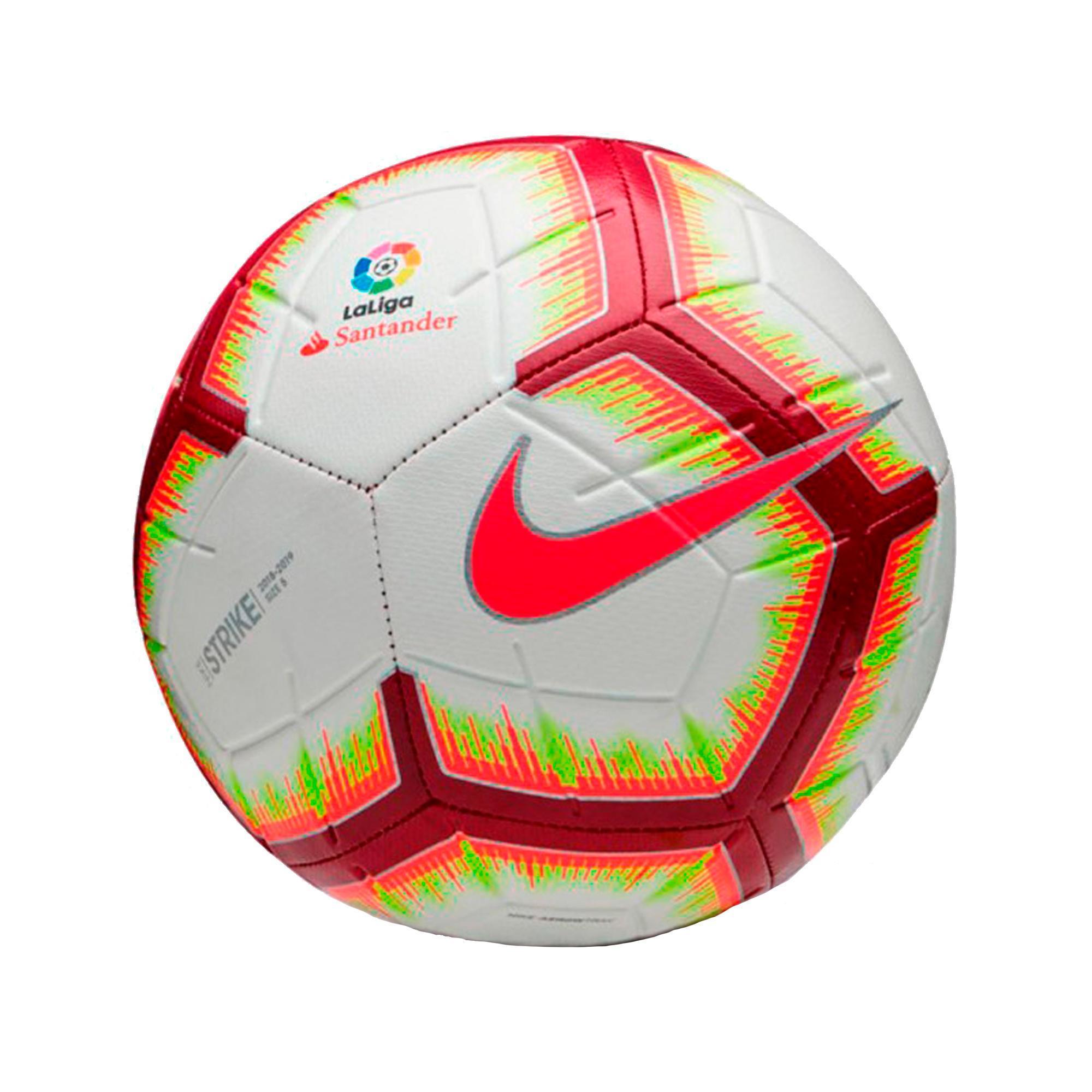 Balón de Fútbol Nike réplica oficial LFP 2018 19 Liga Española blanco 4e96d760d1a9a