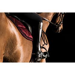 Botines con cordones equitación adulto 500 negro