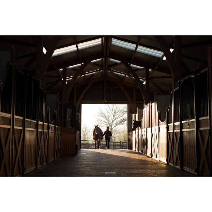 Staldeken ruitersport paard en pony Polar 500 bordeaux