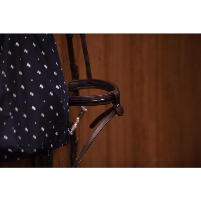 Hoofdstel ruitersport maat pony 580 glossy bruin