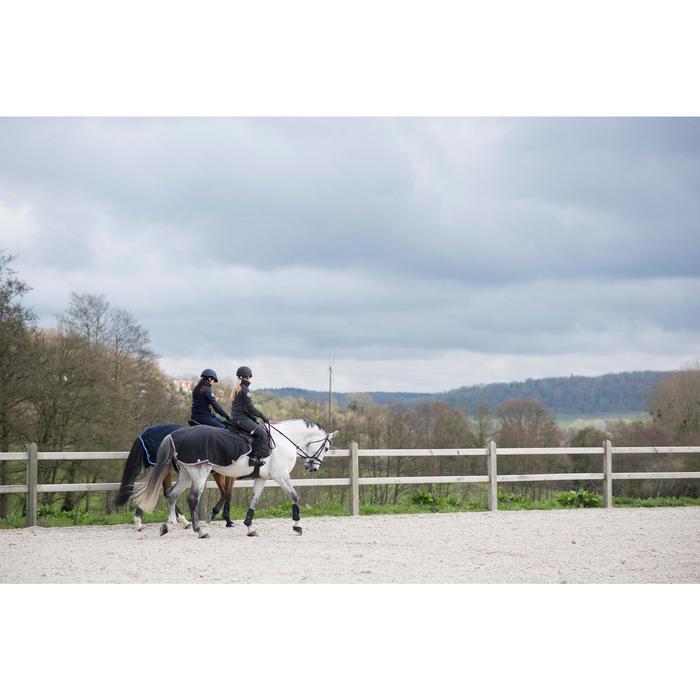 Nierendecke Fleece Pony/Pferd grau