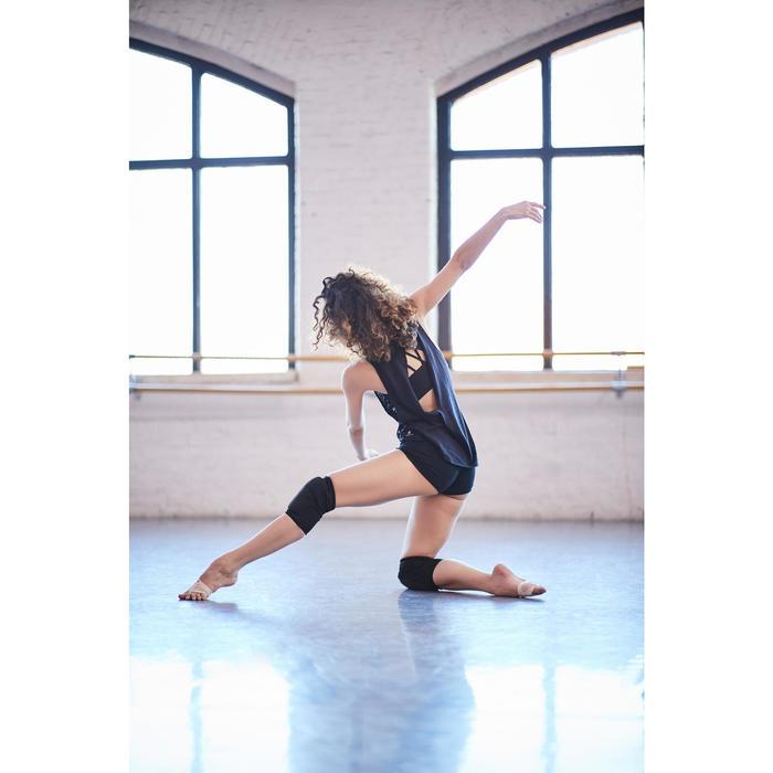 Rodilleras de danza moderna y danzas urbanas negro mujer
