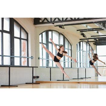 Mini short noir moulant danse moderne fille