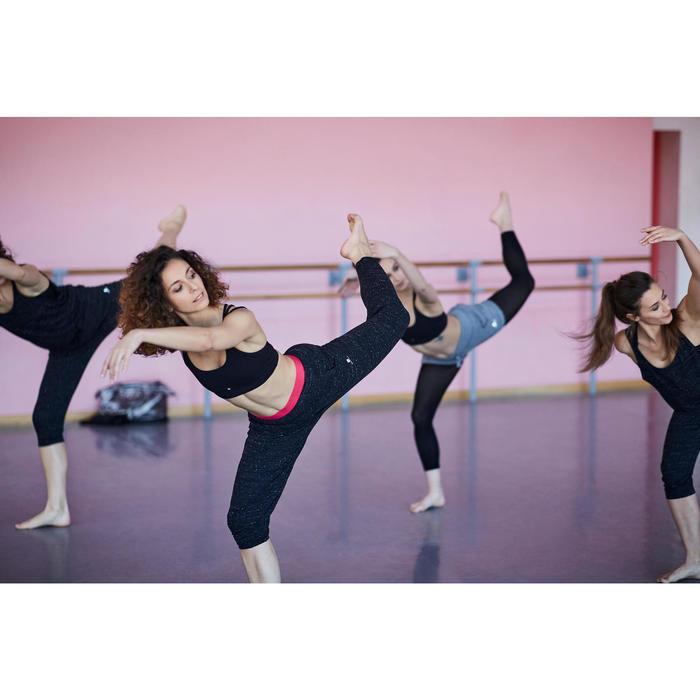 Tanzhose Karottenform Modern Dance Damen grau meliert