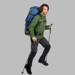 Donsjas voor bergtrekking heren Trek 500 groen