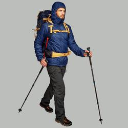 Chaqueta acolchada trekking en montaña TREK 100 CAPUCHA hombre azul