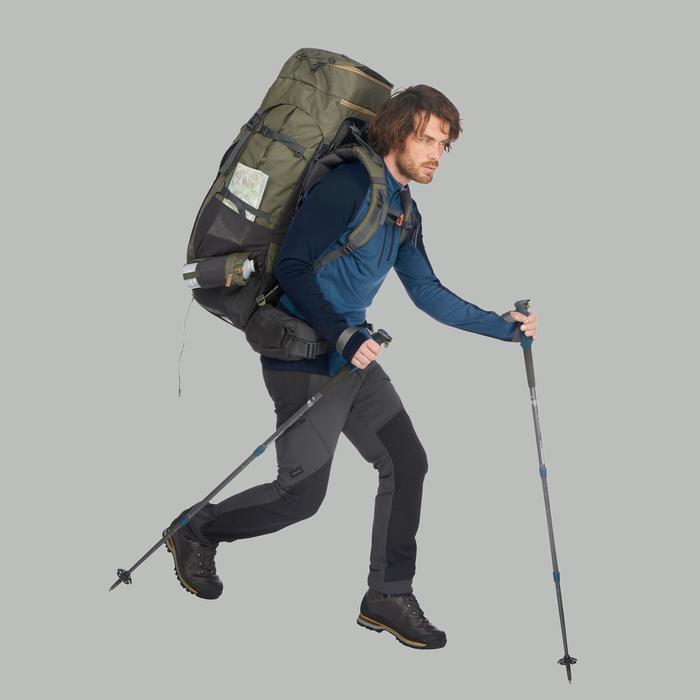 T-shirt manches longues trekking montagne TREK 900 wool homme - 1518478