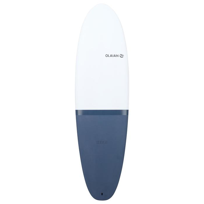 900 egg Hard surfboard 6'2 Longboard. Comes with 3 fins.
