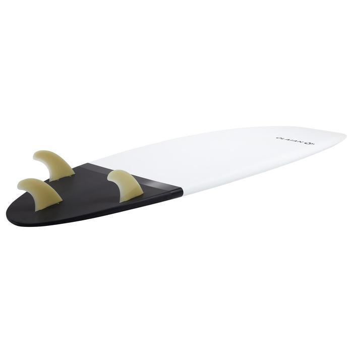 """Surfboard 900 Hardboard 5'10"""" Shortboard 33l mit 3 Finnen"""