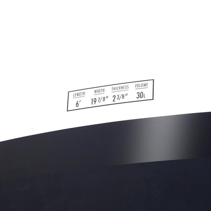 Planche de surf rigide 6' shortboard 900 . Livrée avec 3 ailerons .