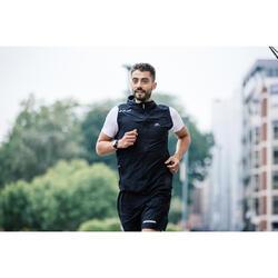 CHALECO RUNNING HOMBRE RUN WIND NEGRO
